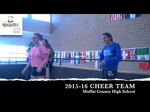 Moffat County High School Cheer Team - GO