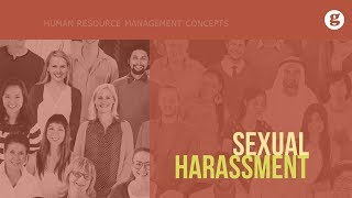 Vii sexual harassment and Title