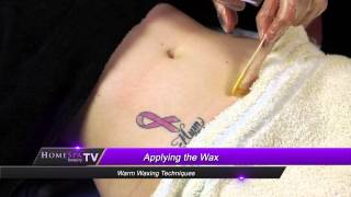 Warm Waxing Techniques - Abdomen Thumbnail