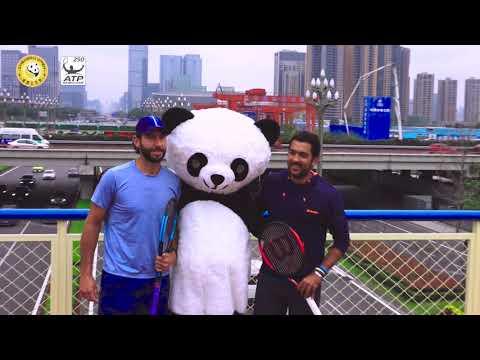 Qureshi, Gonzalez Enjoy Eco-Friendly Excursion In Chengdu 2018