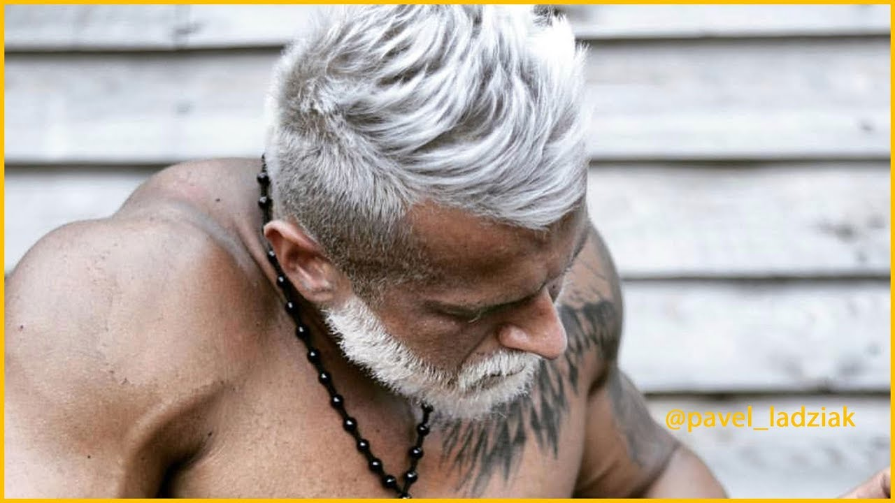 How To Cut And Style Men S Gray Hair Youtube