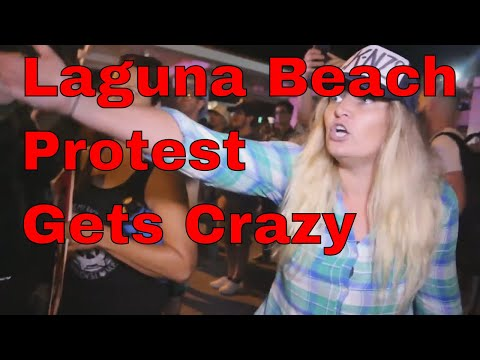 Download Youtube: laguna beach protest