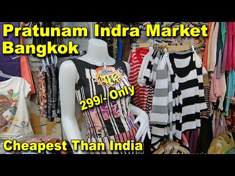WORLD BIGGEST SHOPPING MARKET IN BANGKOK | CHEAPEST CLOTHES