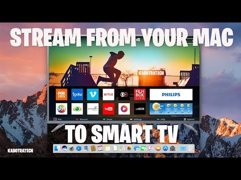Stream To Smart TV From Your Mac