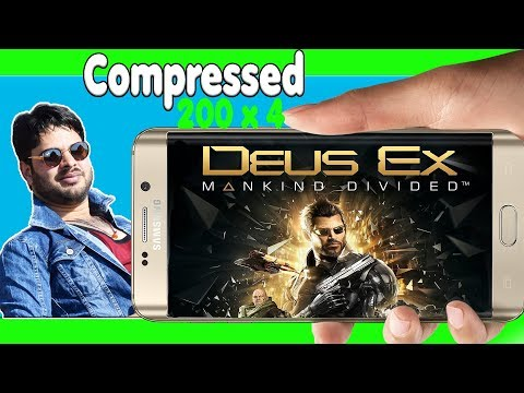 DEUS EX DOWNLOAD ON ANDROID || Offline || Apk+data || Proof With Gameplay