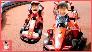 키즈카페 가서 자동차 놀이 대결 했어요! 꾸러기 유니 워터파크 물놀이 운전놀이 ♡ 어린이 장난감 코코몽 에코파크 kids playground |말이야와아이들 MariAndKids
