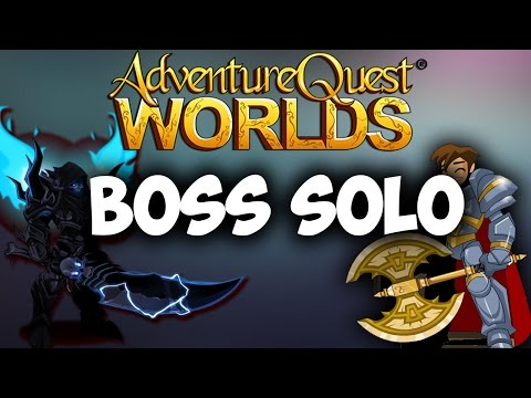 SOLO-ing Bosses in AQW with Legion DoomKnight Class (LDK)