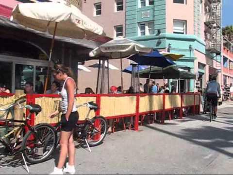 Travel Atmosphere - Santa Monica, Venice Culver City bike ride