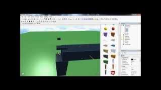 Tutorial - How To Make A Gun On Roblox (HD)