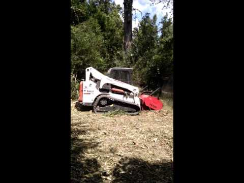 Livingston Tx Hydro Axe Services Forestry Mulching