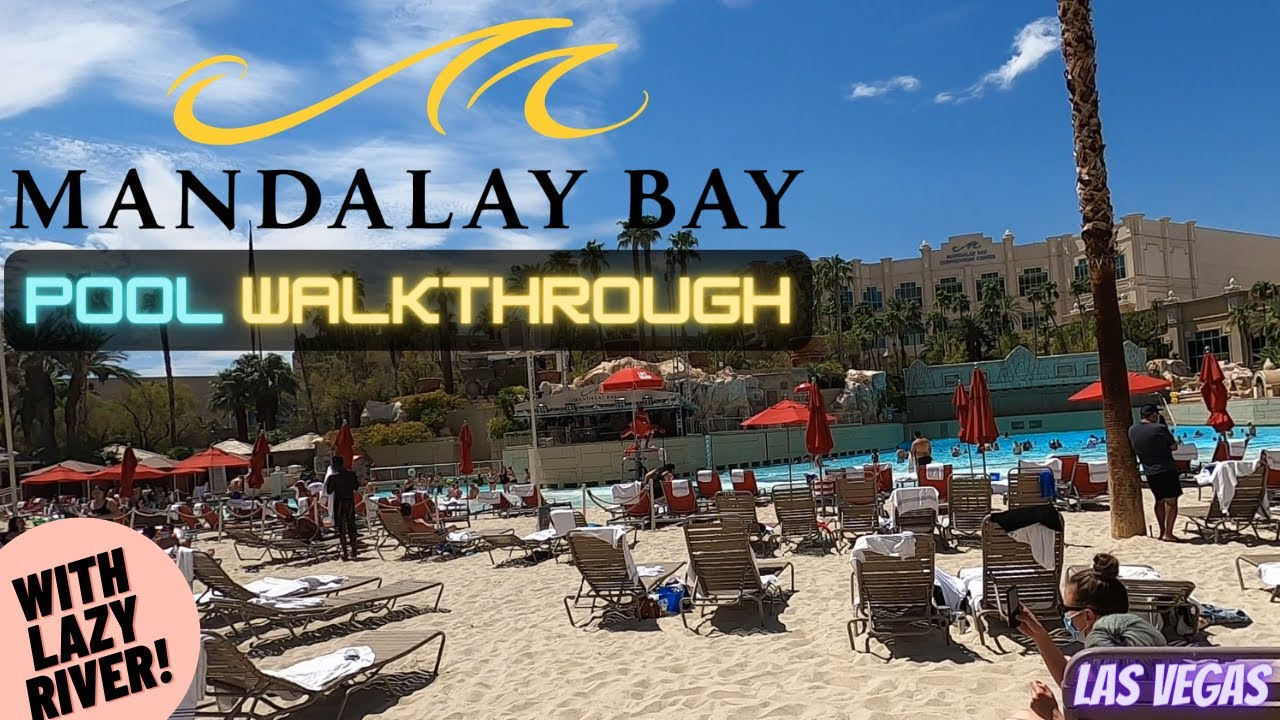 Naturally, that applies only monday through thursday, and you'll have to pay a small admission charge ($20 for adults, $10 for children) for the day. Mandalay Bay Delano Pool Walkthrough Tour W Lazy River Las Vegas 2020 Youtube