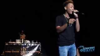 """Jacob Latimore performs """"Ah Yeah"""" live at Yard Status Music Festival"""