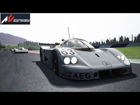 Assetto Corsa - Sauber- Mercedes C9 - Spielberg Red Bull Ring - Controller Xbox one - PC-FR