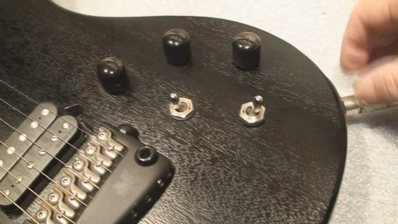 Parker Guitar Output Jack Repair