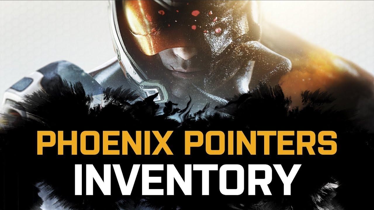 Inventory - Phoenix Pointers