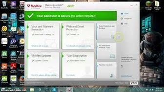 How to remove anoying popups from Mcafee
