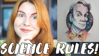Drawing BILL NYE THE SCIENCE GUY! // Rad Art with Beth Be Rad | SNARLED