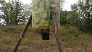 Build Your Own Homemade Deer Feeder