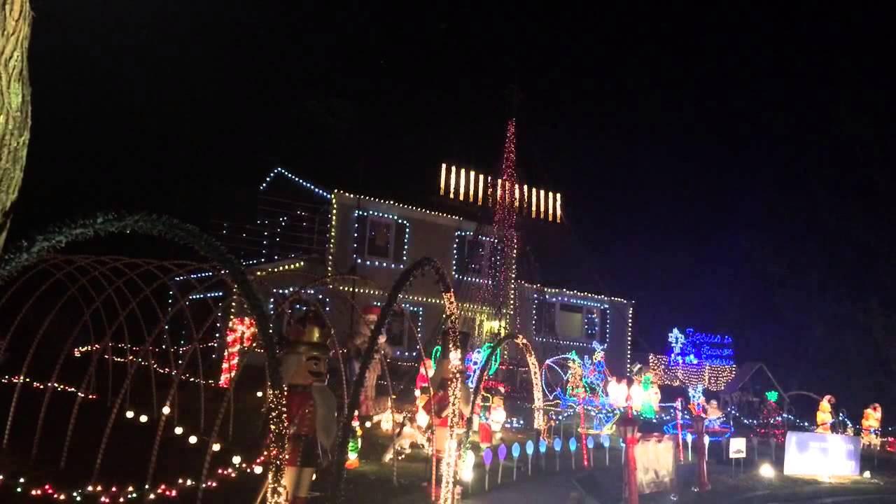 Christmas Light Show in NJ - YouTube