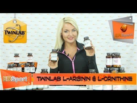 Спортивное питание (ERSport.ru) Twinlab L-Arginin & L-Ornithine