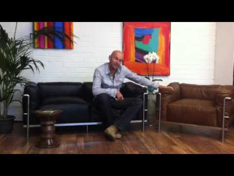 Demonstrating The Lc3 Grand Confort Furniture Range Youtube