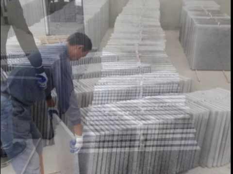 Flamed Wuhan G603 Granite Tile