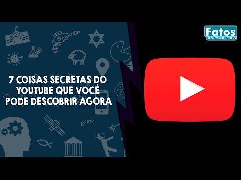 7 Coisas secretas do  Youtube que você  pode descobrir agora
