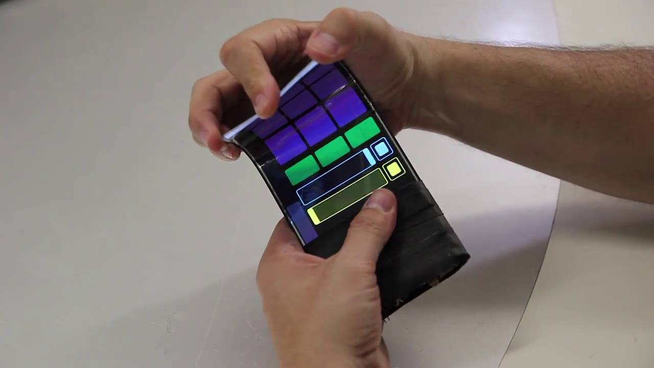 WhammyPhone: Bending Sound with a Flexible Smartphone ...