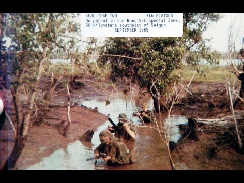 SEAL Team 2 in Vietnam 1969 (Silent footage)