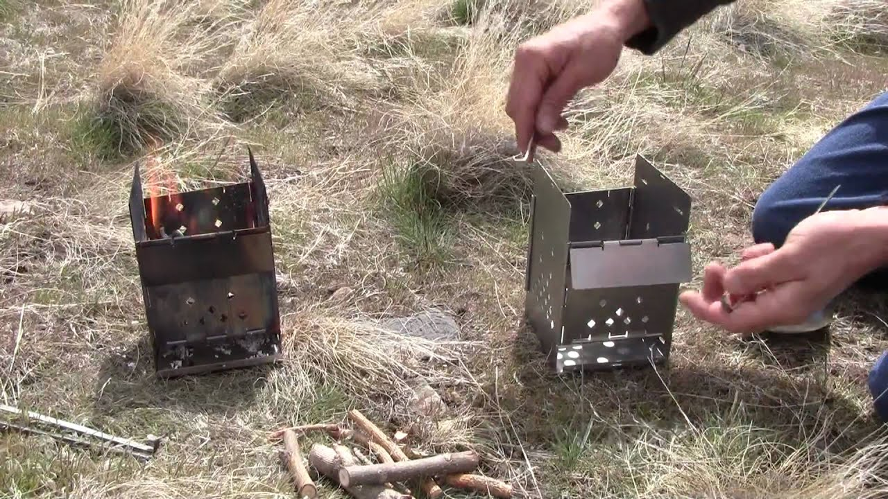 How to fold the stove 53