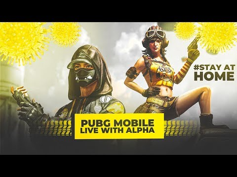 🔴 PUBG MOBILE LIVE : STAY ENTERTAINED IN QUARANTINE! 😍 #stayhome #staysafe  || H¥DRA | Alpha! 😎