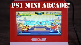 This JXD Mini Arcade is AWESOME! Playstion 1 and HDMI Out Testing!