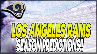 LOS ANGELES RAMS 2018 SCHEDULE PREDICTION! HOW WILL THEY DO!?  2018 NFL SCHEDULE PREDICTIONS
