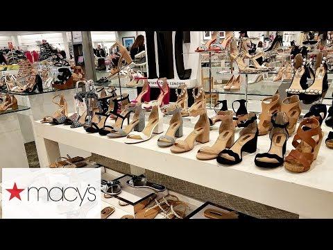 macy's-shop-with-me-shoes-heels-jessica-simpson-michael-kors-katy-perry-walk-through-2018