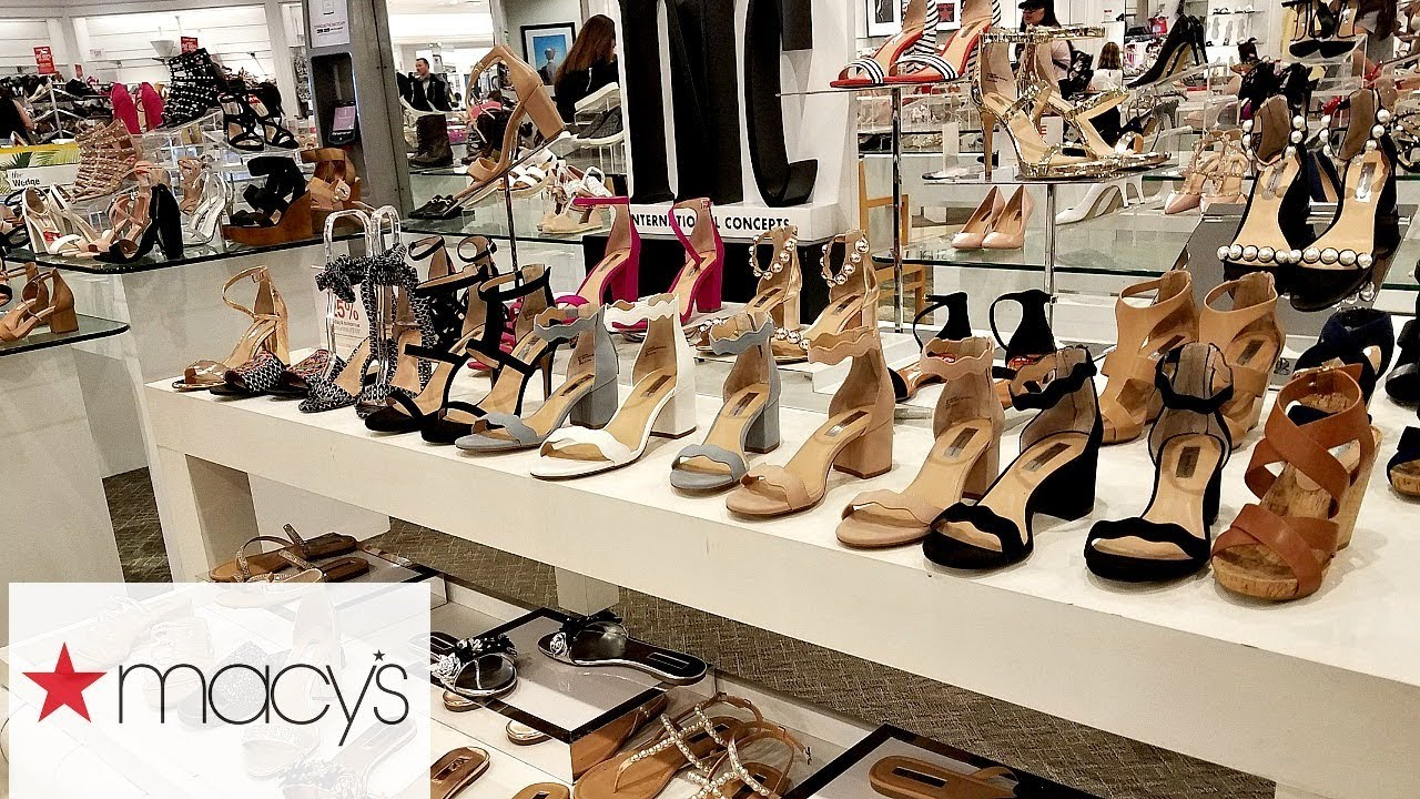 fc5d14b43e9074 MACY S SHOP WITH ME SHOES HEELS JESSICA SIMPSON MICHAEL KORS KATY ...