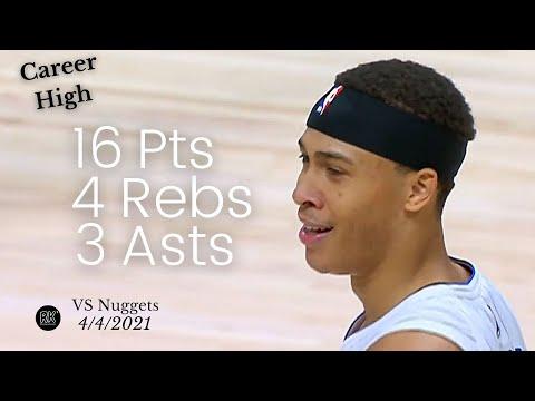 RJ Hampton 16 Pts, 4 Rebs, 3 Asts vs Nuggets   FULL Highlights