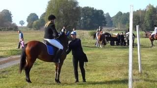 Patrycja Seehafer i Diana Western I miejsce Hubertus Złotnik 2014r.