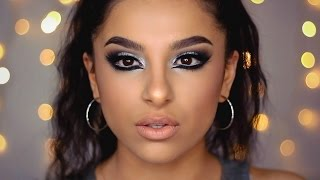 Icy Silver Winter Makeup Tutorial | Makeup By Leyla