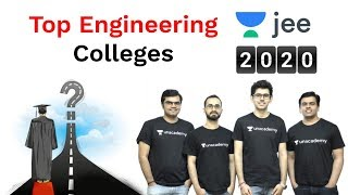 Top Engineering Colleges in India - 2020 | Unacademy JEE | JEE Mains 2020 | Namo Kaul