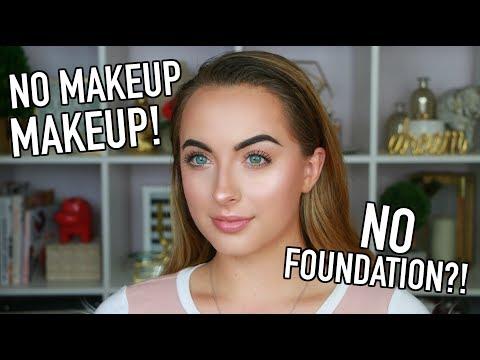 Get Ready With Me   No Makeup Makeup   No Foundation Makeup