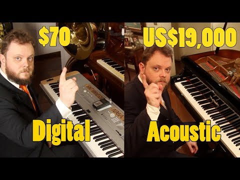 Can You Hear The Difference Between an Acoustic and Digital Piano