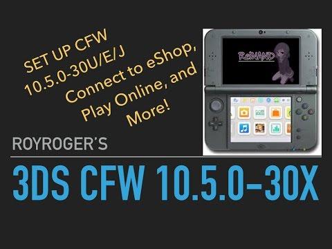 update firmware 3ds cfw