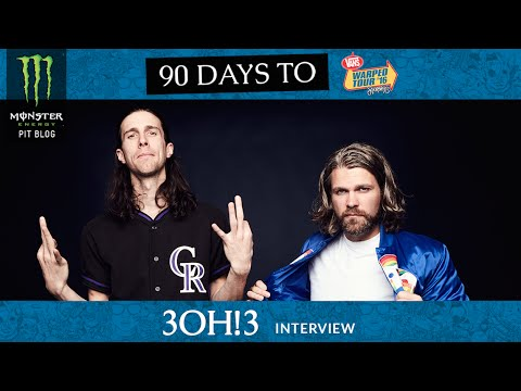 2016 Monster Energy Pit Blog: 3OH!3 Interview