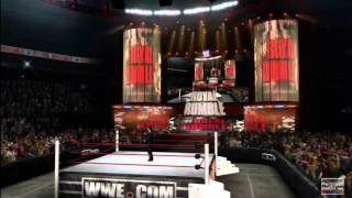 WWE Royal Rumble 2012 WWE 12 Simulation