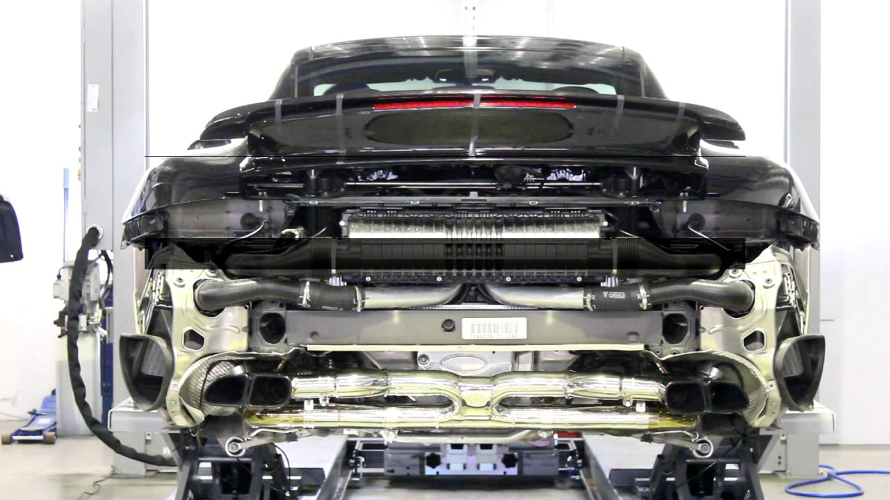 Porsche 911 991 Engine Diagram Explore Schematic Wiring Fog Light Fuse Box Turbo S With Performance Back Exhaust Flaps Rh Youtube Com 356 1977
