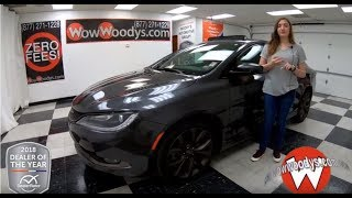 2017 Chrysler 200 Review | Video Walkaround | Used Cars and Trucks for sale at WowWoodys