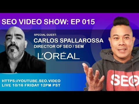 ▷ SEO Video Show: Episode 015 - Carlos Spallarossa, Search Marketing SEO / SEM Synergy