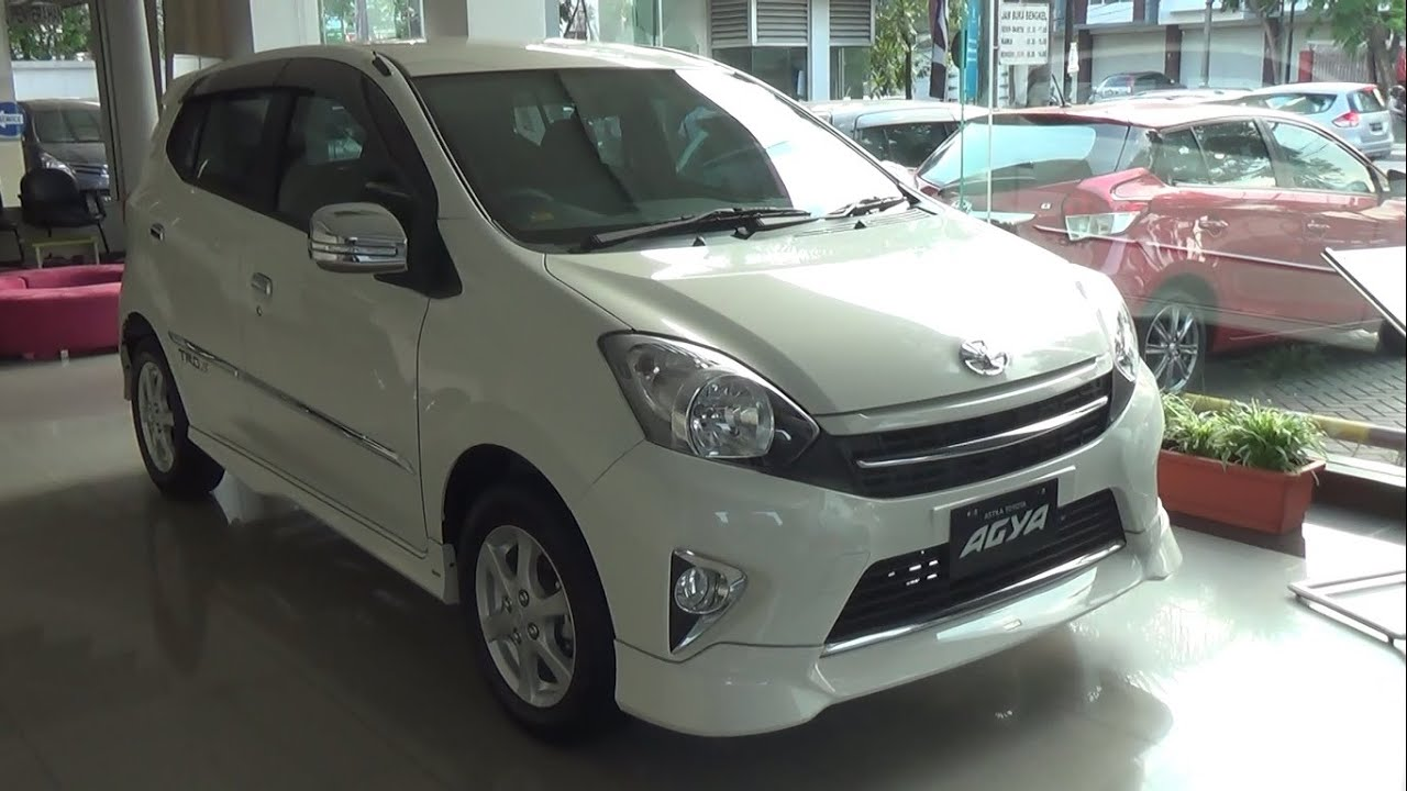 Toyota New Agya Trd Jok Kulit All Kijang Innova 2015 1 S Short Take Youtube