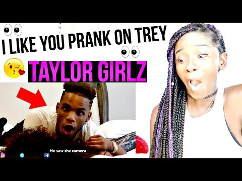 I LIKE YOU PRANK ON TREY FROM ARMON AND TREY (I KISSED HIM) REACTION !!! | LACY'S FILES