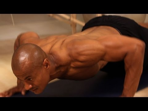 How To Do A Knee Down Push-Up | Chest Workout